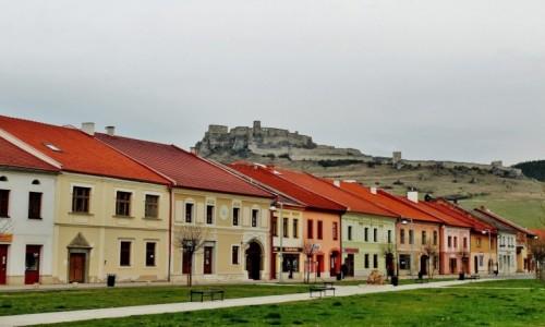 Zdjecie SłOWACJA / Kraj preszowski / Spiskie Podgrodzie / Pod zamkiem