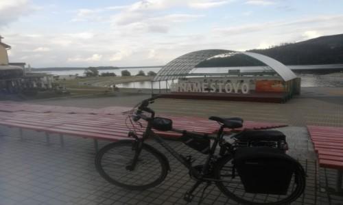 Zdjecie SłOWACJA / jez.Orawskie / jez.Orawskie / Z rowerem na Płd. Europę