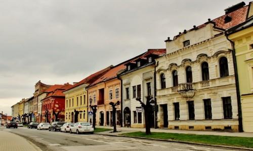Zdjecie SłOWACJA / Kraj preszowski / Lewocza / Lewoczańskie kamieniczki