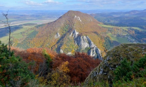 Zdjecie SłOWACJA / Sulovskie Wierchy / Powaska Bystrzyca / Maly Manin, tym razem jesienią
