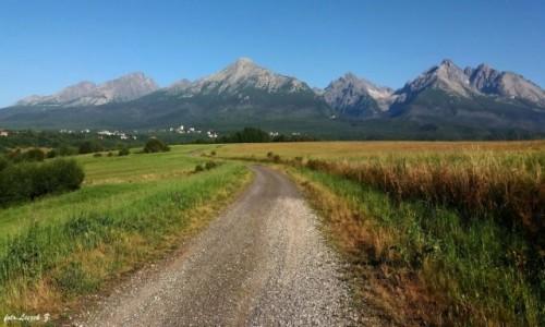 Zdjęcie SłOWACJA / Stary Smokowiec. / Nowa Leśna. / Iść ciągle iść w stronę ........szczytów
