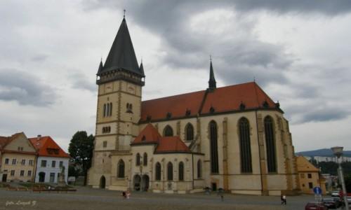 Zdjecie SłOWACJA / Kraj preszowski,   / Bardejów. / Bardejów - Bazylika św. Idziego (Egidia).