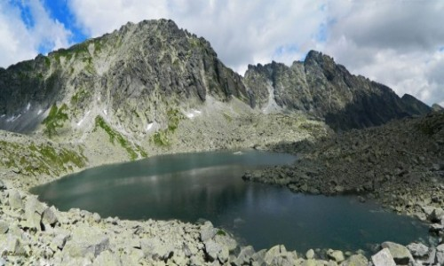 SłOWACJA / Wysokie Tatry. / Dolina Młynicka. / Ze szlaku na Bystrą Ławkę 4.