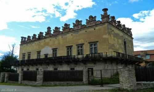 Zdjecie SłOWACJA / Kraj Koszycki. / pow. Nowa Wieś Spiska. / Betlamovce - renesansowy zamek ze stiukową attyką z 1568 r.