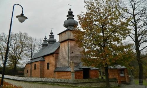 SłOWACJA / pow. nowosądecki. / gmina Grybów. / Binczarowa - cerkiew św. Dymitra.
