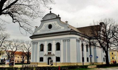 Zdjecie SłOWACJA / Kraj koszycki / Nowa Wieś Spiska / Zbór ewangelicki z końca XVIII wieku