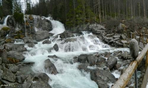 Zdjecie SłOWACJA / Wysokie Tatry. / Wodospady Zimnej Wody. / Wielki Wodospad - Zimnej Wody.
