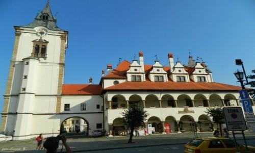 Zdjecie SłOWACJA / Kraj preszowski, / region Spisz. / Lewocza - Ratusz - symbol miasta.
