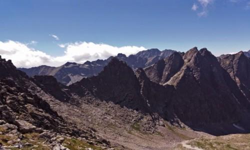 Zdjecie SłOWACJA / Wysokie Tatry. / Lodowa Przełęcz (Siodełko) 2372 m. / Na Lodowej Przełęczy.