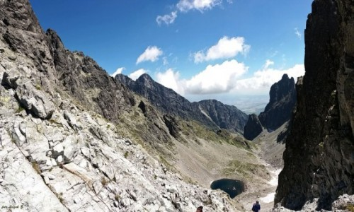 Zdjecie SłOWACJA / Wysokie Tatry. / Siodełko 2372 m. - Lodowa Przełęcz. / Lodowa Dolinka (Dolinka pod Siodełkiem).