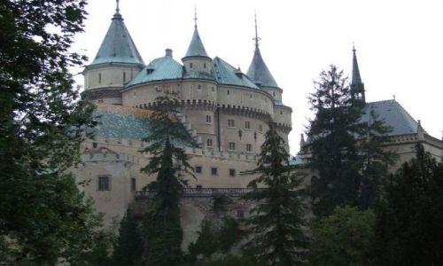 Zdjecie SłOWACJA / Prievidza / Bojnice / bajkowy zamek
