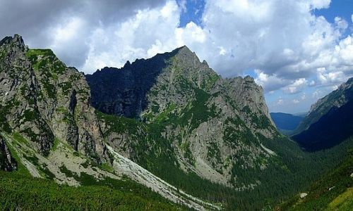 Zdjecie SłOWACJA / Tatry wysokie / Dolina Bialej Wody / Dolina Bialej W