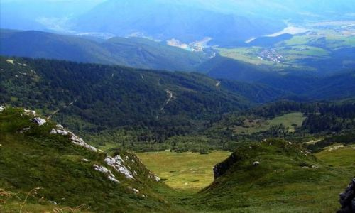 Zdjecie SłOWACJA / Vrátna Dolina  / góra chleb / widoczki z chle