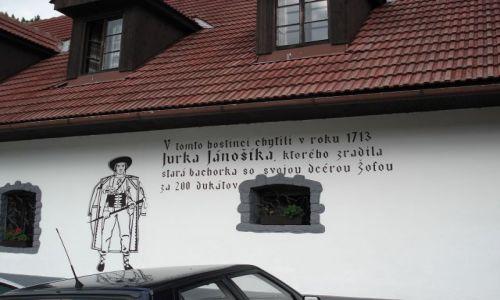 Zdjęcie SłOWACJA / Liptów / Orava / Valaska Dubova / Janosikowa Karczma