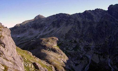 Zdjecie SłOWACJA / Tatry / Tatry Wysokie - Droga na Gerlach z Doliny Wielickiej / Tatry o poranku