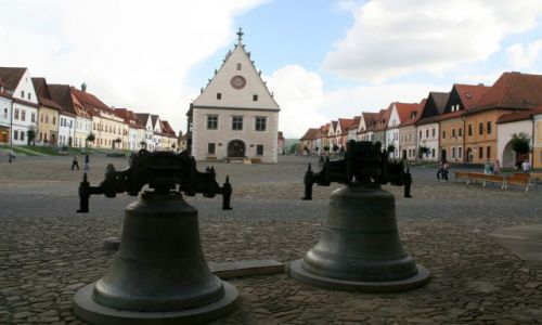 Zdjecie SłOWACJA / w górach / Bardejov / ryreczek z dzwonami