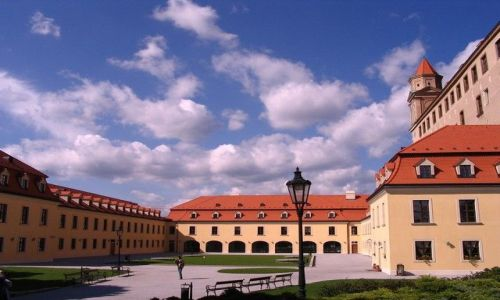Zdjecie SłOWACJA / - / Bratysława / Zamek w Bratysławie