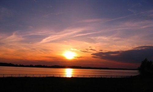 Zdjęcie SłOWACJA / - / Bratysława / Zachód słońca w Gabcikowie