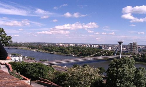 Zdjecie SłOWACJA / - / Bratysława / Most  - Bratysława