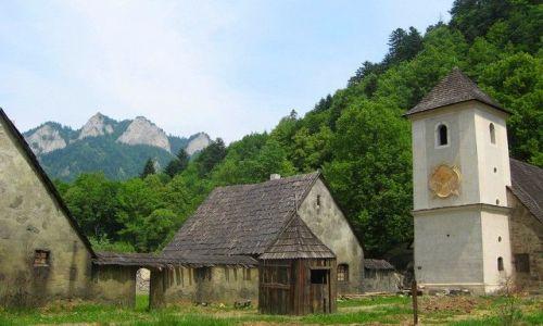 SłOWACJA / Pieniny / Czerwony Klasztor / Trzy Korony od Czerwonego Klasztoru