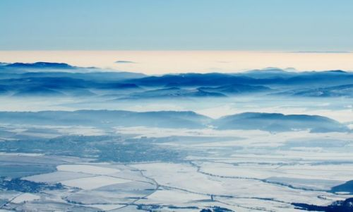 SłOWACJA / Wysokie Tatry / Tatrzańska Łomnica / Ach te mgły ;)