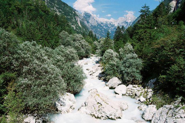 Zdjęcia: Socza, Alpy Julijskie, Soczysta rzeka Socza, SłOWENIA
