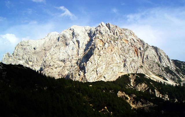 Zdj�cia: Prze��cz Vrsicz, Alpy Julijskie, Widok z prze��czy Vrsicz, S�OWENIA