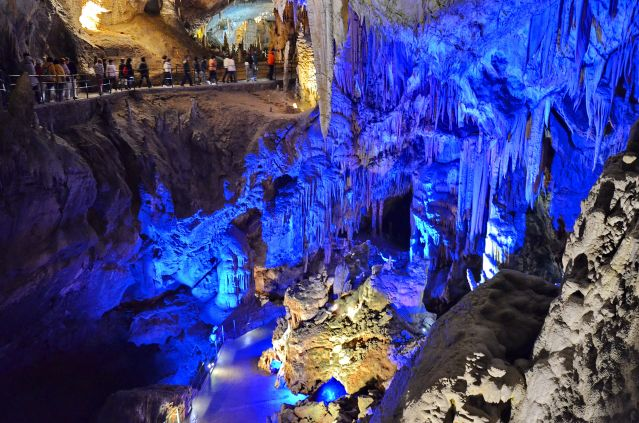 Zdjęcia: postojna jama, Divaca, Niebieska jaskinia, SłOWENIA