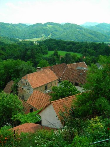 Zdjęcia: Ptujska Gora, Widok z Ptujskiej Gory, SłOWENIA