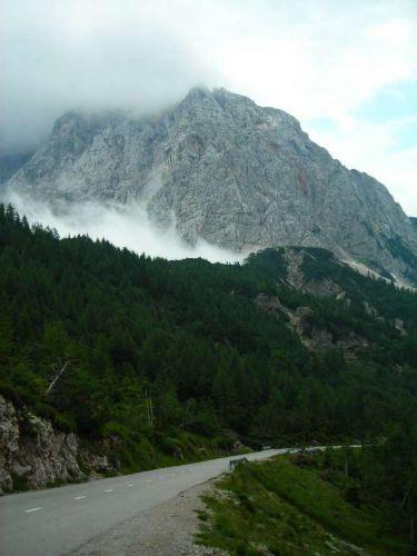 Zdjęcia: Vrsic, Alpy Julijskie, Przelecz Vrsic, SłOWENIA