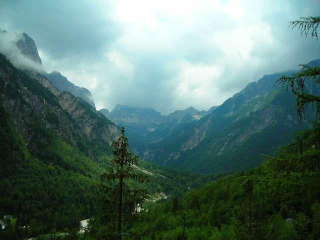 Zdjęcia: Trenta, Alpy Julijskie, Dolina rzeki Soca 1, SłOWENIA