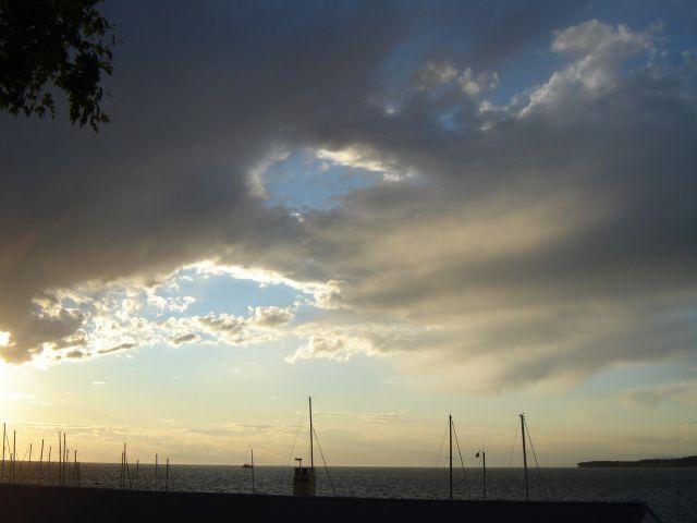 Zdjęcia: koper, Niebo nad Koprem, SłOWENIA