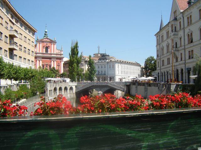 Zdjęcia: Lublana, Nad Lubljanicą, SłOWENIA