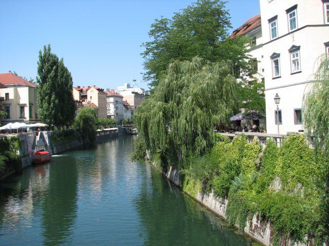 Zdjęcia: Lublana, Nad Lublanicą, SłOWENIA