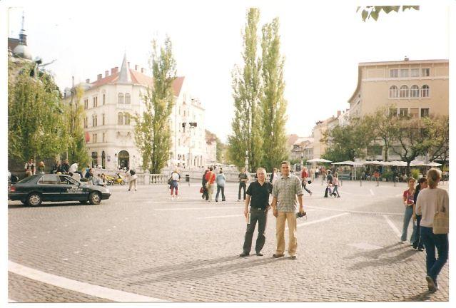 Zdj�cia: Liubljana, S�owenia, Liubljana - Centrum miasta, S�OWENIA