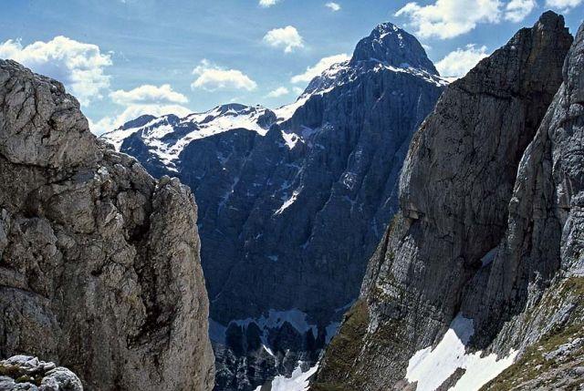 Zdjęcia: Rejion Triglava, Alpy Julijskie, Okno na Triglav, SłOWENIA