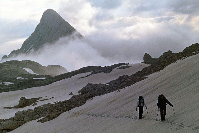 Zdjęcia: Rejion Triglava, Alpy Julijskie, W drodze na Triglav, SłOWENIA