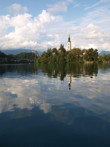 Zdjęcia: Jezioro Bled, Alpy, Bled, SłOWENIA