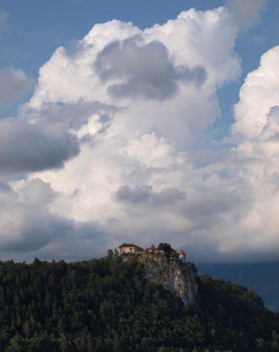 Zdjęcia: Jezioro Bled, Alpy, zamek, SłOWENIA