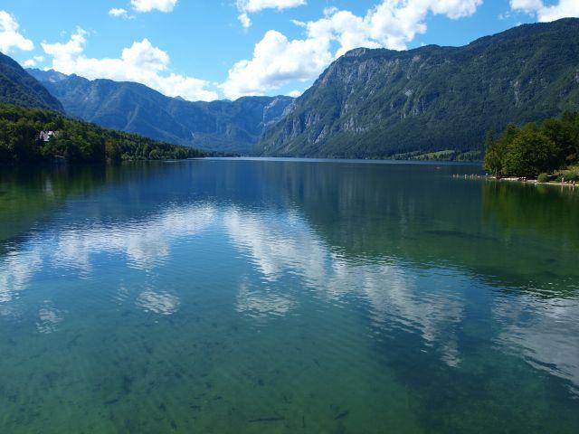 Zdjęcia: Jezioro Bohinskie, Alpy Julijskie, Jezioro Bohinskie, SłOWENIA