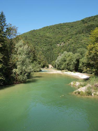 Zdjęcia: rzeka Sawa, Alpy Julijskie, rzeka , SłOWENIA
