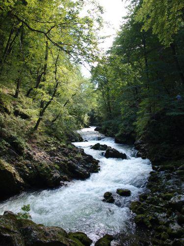 Zdjęcia: wąwóz wintgar, Alpy Julijskie, wintgar, SłOWENIA