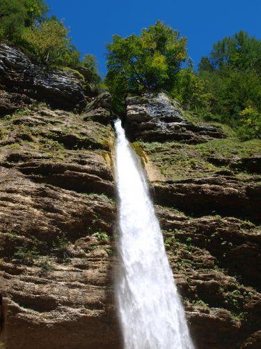 Zdjęcia: Triglawski Park Narodowy, Alpy Julijskie, wodospad, SłOWENIA