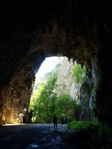 Zdjęcia: skocjanske jame, Kras, wyjście, SłOWENIA