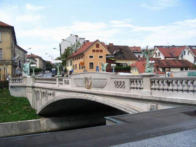 Zdjęcia: Ljubljana, Europa, Most Smoka, SłOWENIA