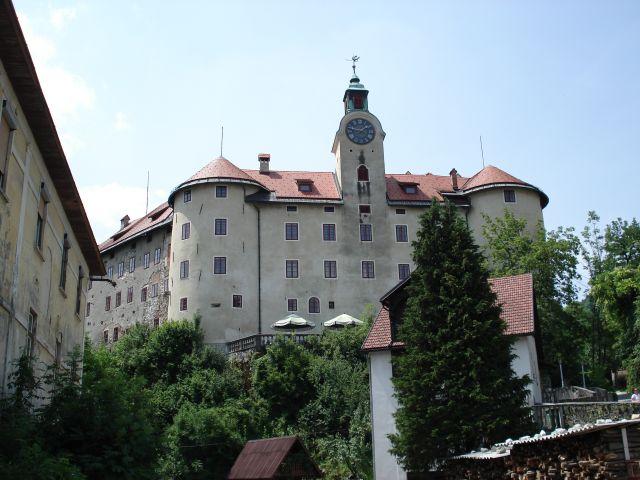 Zdjęcia: Idrija, Gorycja, Zamek Gewerkenegg, SłOWENIA