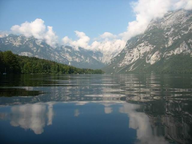 Zdjęcia: Bohinjsko Jezero, Triglavski Narodni Park, Alpy Julijskie, SłOWENIA