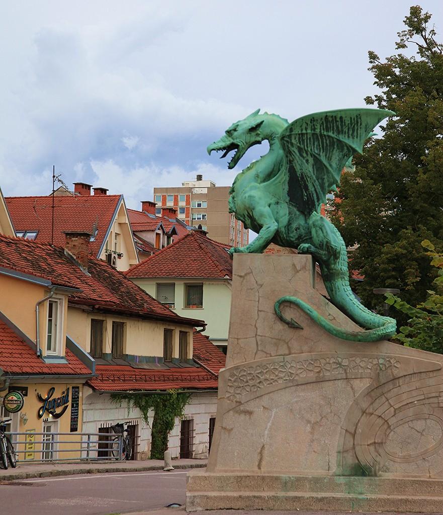 Zdjęcia: Most Smoka, Lubiana, Symbol miasta, SłOWENIA