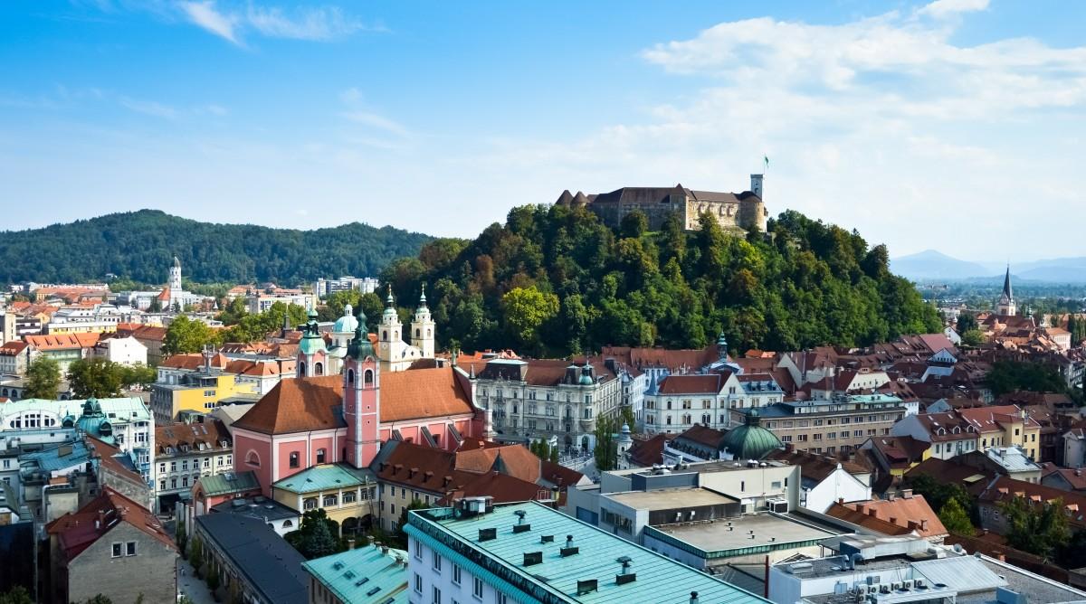 Zdjęcia: Lublana, Zamkowa Wyspa, SłOWENIA