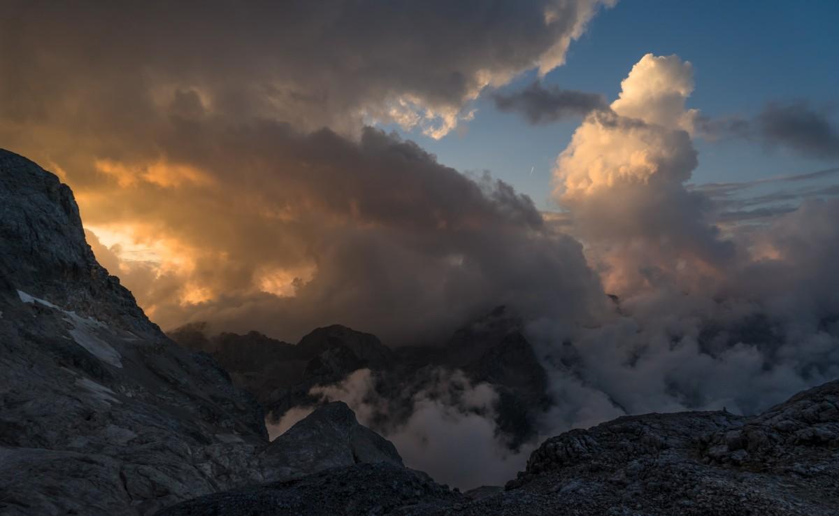 Zdjęcia: Triglav, Alpy Julijskie, W drodze na Triglav, SłOWENIA
